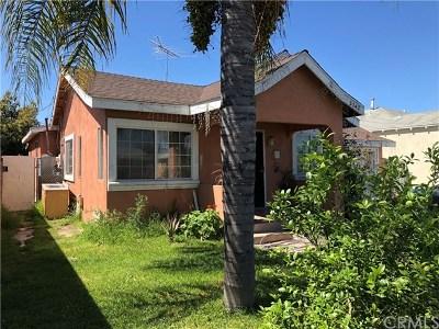 Lynwood Single Family Home Pending: 3742 Walnut Avenue