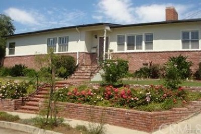 San Pedro Single Family Home For Sale: 905 S Goodhope Place