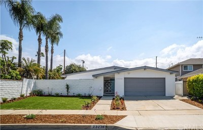 Torrance Single Family Home For Sale: 23236 Grant Avenue