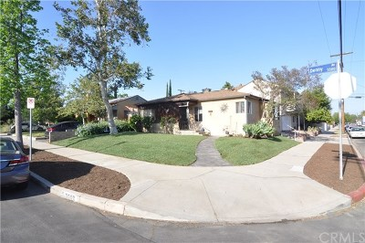 North Hollywood Multi Family Home Active Under Contract: 5502 Denny Avenue