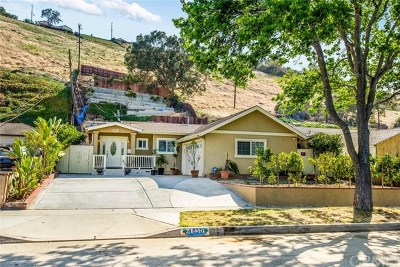 Los Angeles County Single Family Home For Sale: 4830 Newton Street