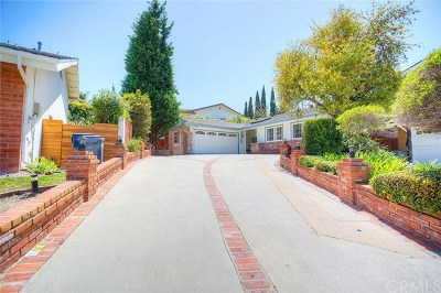Rancho Palos Verdes Single Family Home For Sale: 5061 Rockvalley Road