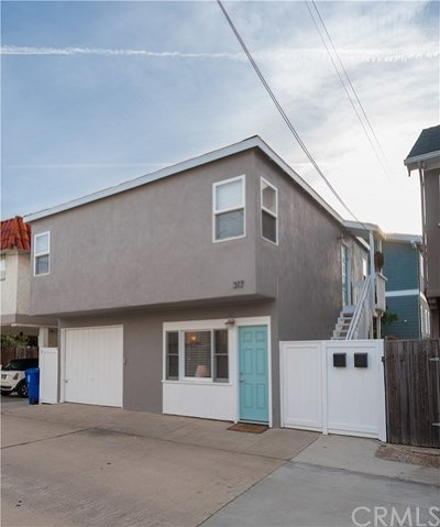 Manhattan Beach Multi Family Home For Sale: 317 Crest Drive