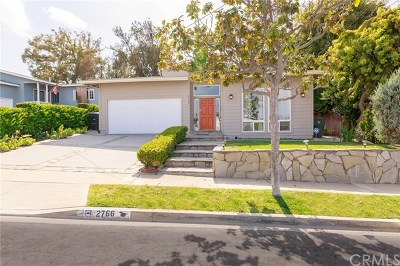 Torrance Single Family Home For Sale: 2766 Loftyview Drive