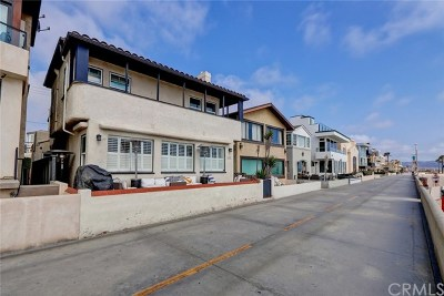 Hermosa Beach Single Family Home For Sale: 1630 The Strand