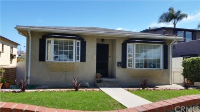 San Pedro Single Family Home For Sale: 1085 W 17th Street
