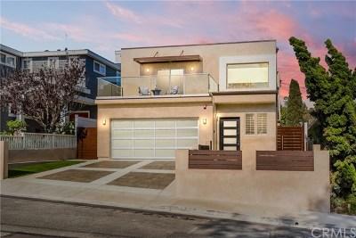 Manhattan Beach CA Single Family Home For Sale: $2,799,000