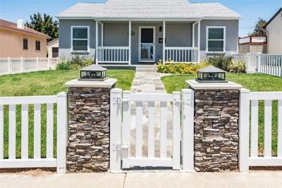 El Segundo Single Family Home For Sale: 1109 E Walnut
