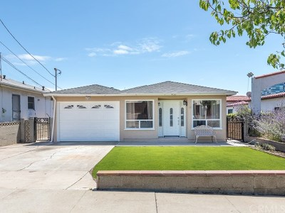 El Segundo Single Family Home For Sale: 432 California Street