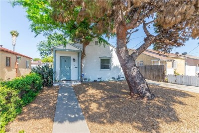 Gardena Single Family Home For Sale: 14920 S Normandie Avenue