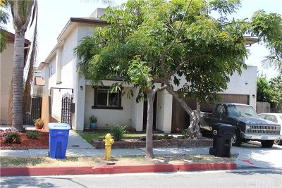 Lawndale Multi Family Home For Sale: 4162 Manhattan Beach Boulevard