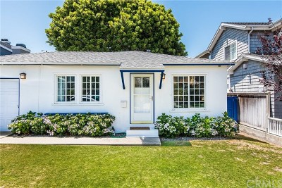 Manhattan Beach Single Family Home For Sale: 1836 5th Street