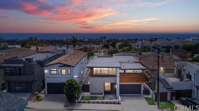 Hermosa Beach Single Family Home For Sale: 2039 Hillcrest Drive