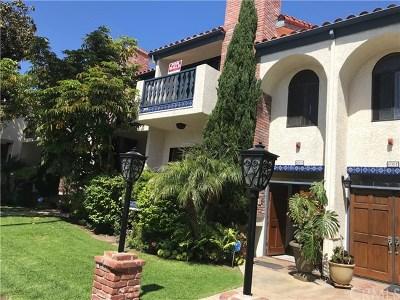 Redondo Beach Condo/Townhouse For Sale: 600 S Catalina Avenue #E