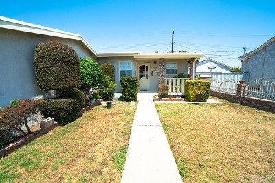 Los Angeles County Single Family Home For Sale: 18328 Ermanita Avenue