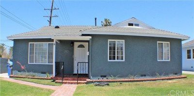 Redondo Beach Single Family Home For Sale: 2701 184th Street