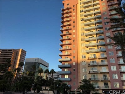 Long Beach Condo/Townhouse For Sale: 388 E Ocean Boulevard #1701