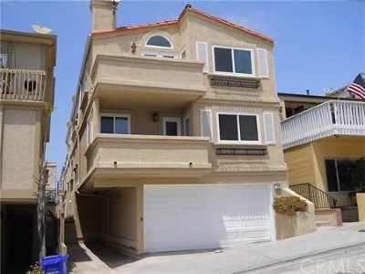 Manhattan Beach Multi Family Home For Sale: 129 38th Street
