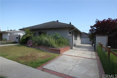 Long Beach Single Family Home For Sale: 5150 E Wardlow Road