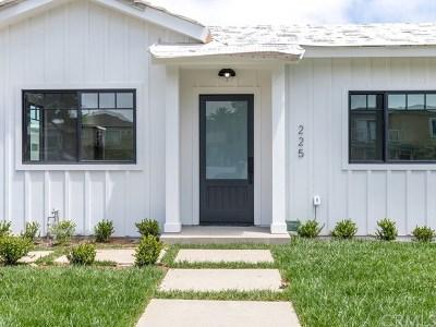 El Segundo Single Family Home For Sale: 225 W Sycamore Avenue