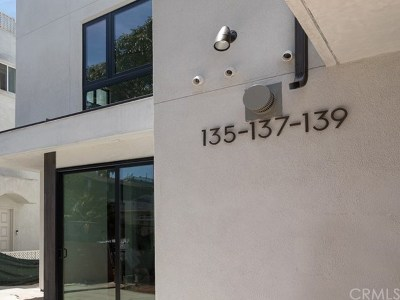 El Segundo Condo/Townhouse For Sale: 137 Virginia
