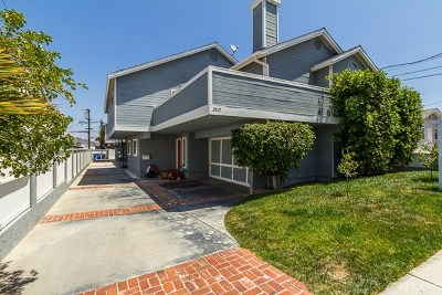 Redondo Beach Condo/Townhouse Active Under Contract: 2617 Mathews Avenue #2