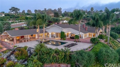 Los Angeles County Single Family Home For Sale: 35 Saddleback Road