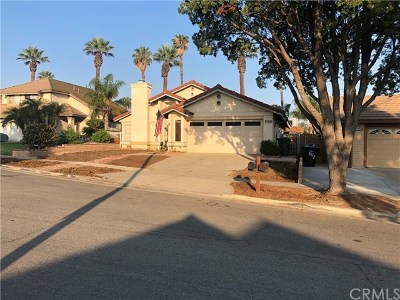 Corona Single Family Home For Sale: 2040 Maywood Circle