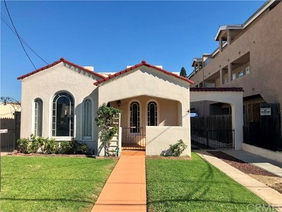 Long Beach Single Family Home For Sale: 1220 Termino Avenue