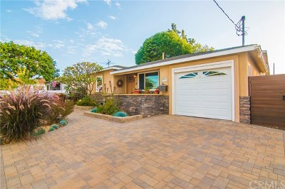 Lomita Single Family Home Active Under Contract: 25413 Woodward Avenue