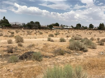 Victorville Residential Lots & Land For Sale: Second Avenue