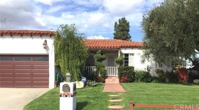 Rancho Palos Verdes Single Family Home For Sale: 6521 Nancy Road