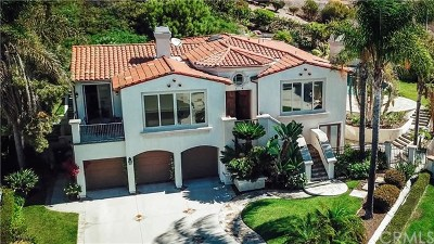 Rancho Palos Verdes Single Family Home For Sale: 3 Nuvola Court
