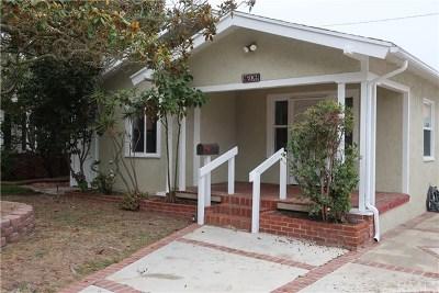 Single Family Home For Sale: 1609 Acacia Avenue
