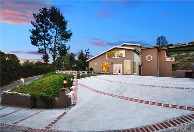 Rancho Palos Verdes Single Family Home For Sale: 5 Cayuse Lane