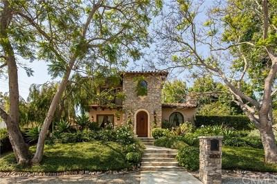 Palos Verdes Estates, Palos Verdes Peninsula Single Family Home For Sale: 4100 Via Largavista