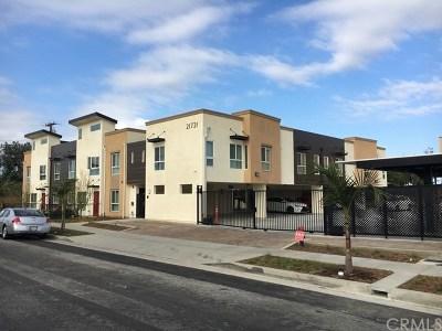 Carson Multi Family Home For Sale: 21721 Moneta Avenue