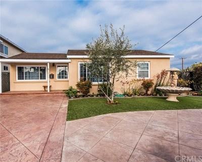 Torrance Single Family Home For Sale: 2832 Knode Street