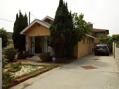 San Pedro Multi Family Home For Sale: 529 W Santa Cruz Street