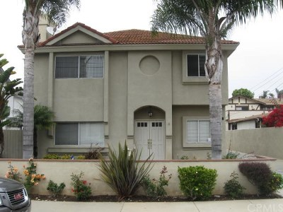 Redondo Beach Condo/Townhouse For Sale: 2207 Pullman Lane #A