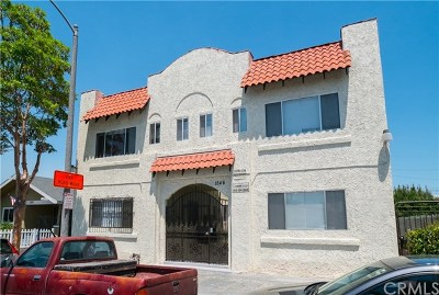 Long Beach Multi Family Home For Sale: 1846 Olive Avenue