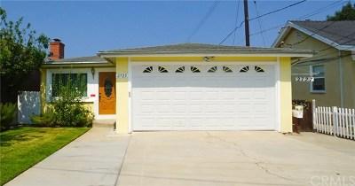 Torrance Single Family Home For Sale: 2725 Arlington Avenue