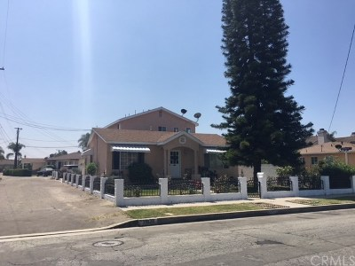 Downey Multi Family Home For Sale: 11828 Rives Avenue