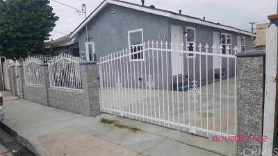 Compton Multi Family Home For Sale: 123 E Maple Street