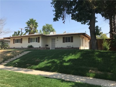 Redlands Single Family Home For Sale: 1015 Brookside Avenue