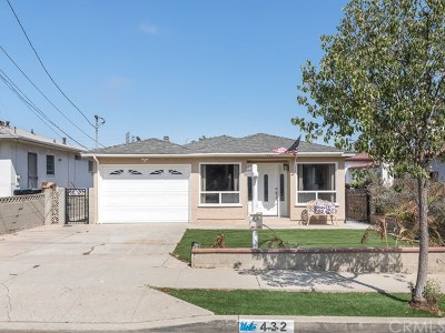 Los Angeles County Single Family Home For Sale: 432 California Street