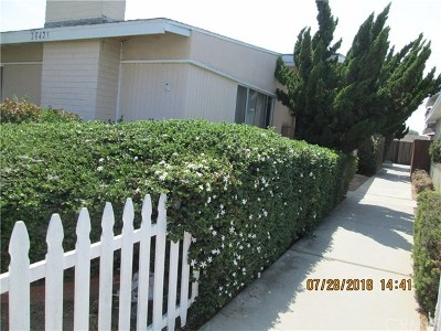 Los Angeles County Multi Family Home For Sale: 20425 Osage Avenue