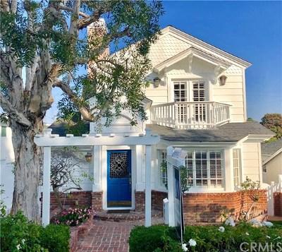 Manhattan Beach Single Family Home For Sale: 3108 N Poinsettia Avenue