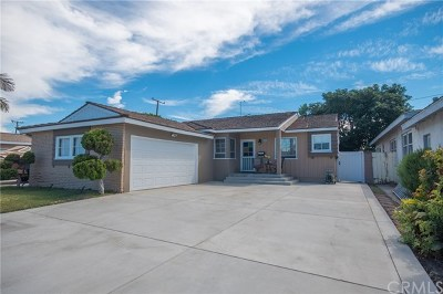 Torrance Single Family Home For Sale: 16126 Spinning Avenue