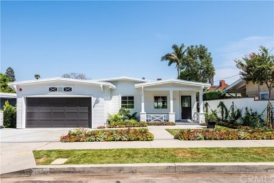 Manhattan Beach Single Family Home For Sale: 1012 N Rowell Avenue